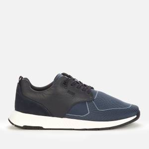 BOSS Men's Titanium Running Style Trainers - Dark Blue