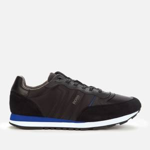 BOSS Men's Parkour Running Style Trainers - Black