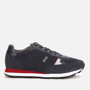 BOSS Men's Parkour Running Style Trainers - Dark Blue
