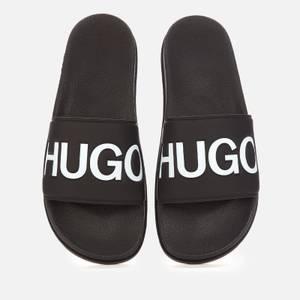 HUGO Men's Match Slide Sandals - Black