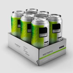 E-Sports Command Energy Cans, Sour Apple, 6 x 440ml