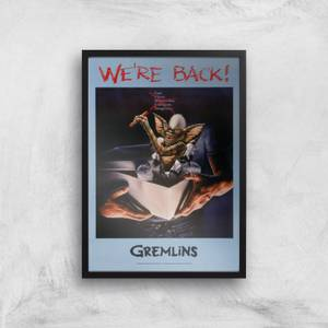 Gremlins We're Back Poster Giclee Art Print