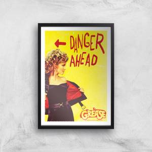 Grease Danger Road Giclee Art Print