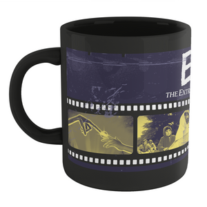 E.T. the Extra-Terrestrial Film Reel Mug - Black