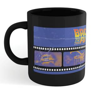 Back To The Future Film Reel Mug - Black