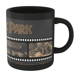 Jurassic Park Film Reel Mug - Black