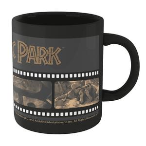 Jurassic Park Film Reel Mug - Noir