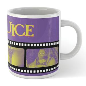 Beetlejuice Film Reel Tasse