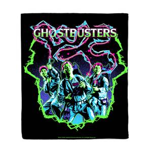 Ghostbusters 80's Neo Fleece Blanket