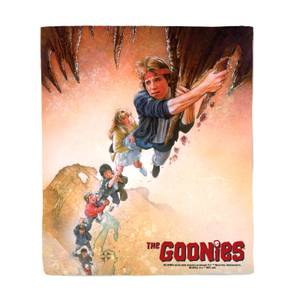 The Goonies Poster Fleece Blanket