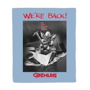 Gremlins Poster Fleece Blanket