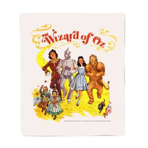 Wizard Of Oz Poster Fleece Blanket