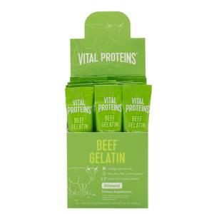 Beef Gelatin в порционных пакетиках, упаковка 200г — Без вкусовых добавок