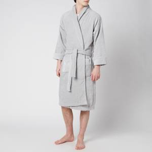 Christy Luxury Egyptian Cotton Dressing Gown - Grey