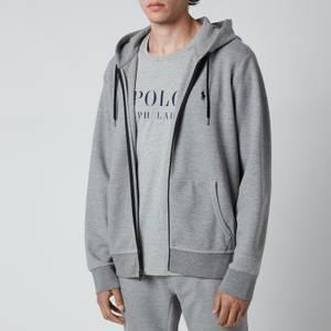 Polo Ralph Lauren Men's Double Knitted Full Zip Hoodie - Battalion Heather