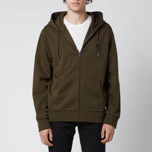 Polo Ralph Lauren Men's Double Knitted Full Zip Hoodie - Company Olive