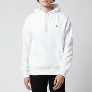 Polo Ralph Lauren Men's Fleece Hoodie - White