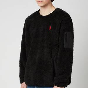 Polo Ralph Lauren Men's Curly Sherpa Sweatshirt - Polo Black