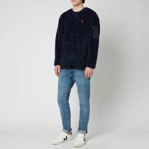Polo Ralph Lauren Men's Curly Sherpa Sweatshirt - Cruise Navy