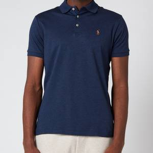 Polo Ralph Lauren Men's Interlock Pima Polo Shirt - Spring Navy Heather