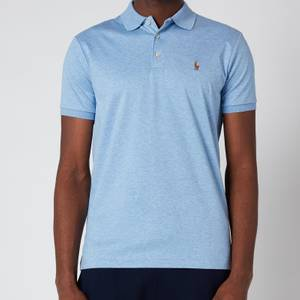 Polo Ralph Lauren Men's Interlock Pima Polo Shirt - Jamaica Heather