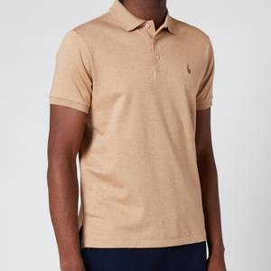 Polo Ralph Lauren Men's Interlock Pima Polo Shirt - Classic Camel Heather
