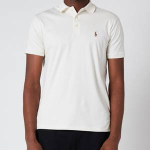 Polo Ralph Lauren Men's Interlock Pima Polo Shirt - Antique Cream