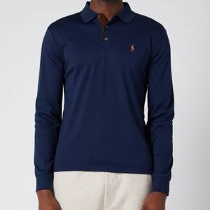 Polo Ralph Lauren Men's Interlock Long Sleeve Polo Shirt - French Navy