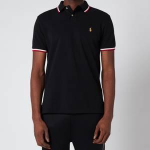 Polo Ralph Lauren Men's Basic Mesh Slim Fit Polo Shirt - Polo Black