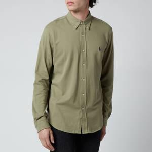 Polo Ralph Lauren Men's Featherweight Mesh Shirt - Sage Green