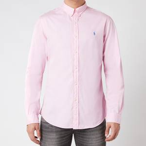 Polo Ralph Lauren Men's Slim Fit Chino Shirt - Carmel Pink