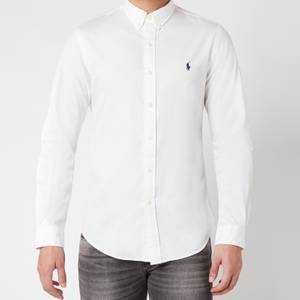 Polo Ralph Lauren Men's Slim Fit Chino Shirt - White