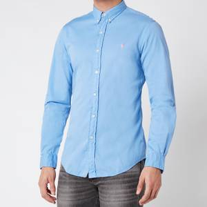 Polo Ralph Lauren Men's Slim Fit Chino Shirt - Cabana Blue