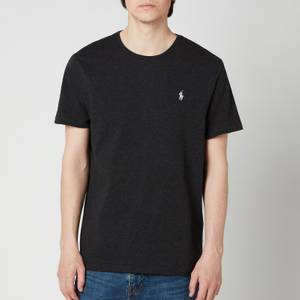 Polo Ralph Lauren Men's Custom Slim Fit Crewneck T-Shirt - Black Marl Heather