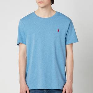 Polo Ralph Lauren Men's Custom Slim Fit Crewneck T-Shirt - Pale Royal Heather