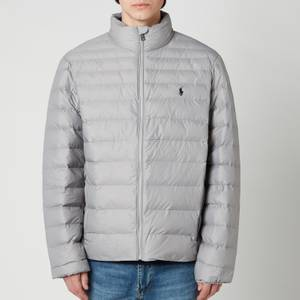 Polo Ralph Lauren Men's Recycled Nylon Bomber Jacket - Light Grey Heather