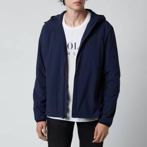 Polo Ralph Lauren Men's Hooded Windbreaker Jacket - French Navy