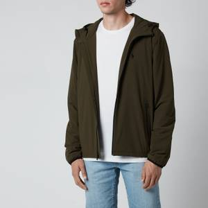 Polo Ralph Lauren Men's Hooded Windbreaker Jacket - Company Olive