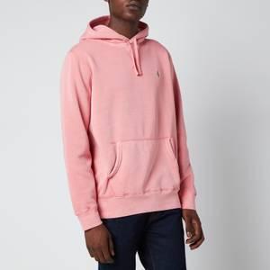 Polo Ralph Lauren Men's Garment Dyed Fleece Hoodie - Desert Rose