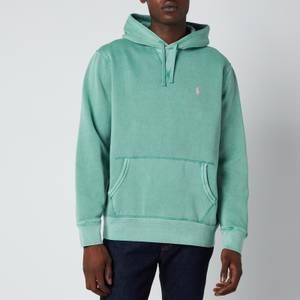 Polo Ralph Lauren Men's Garment Dyed Seasonal Fleece Hoodie - Haven Green