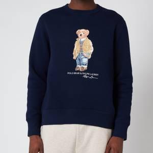 Polo Ralph Lauren Men's Magic Fleece Polo Bear Sweatshirt - Cruise Navy