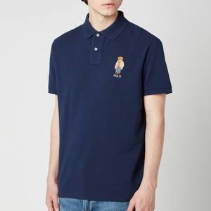 Polo Ralph Lauren Men's Polo Bear Slim Fit Polo Shirt - Newport Navy