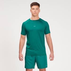 Camiseta de manga corta de entrenamiento Fade Graphic para hombre de MP - Verde Energy