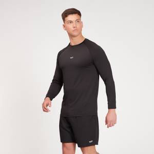 MP Men's Fade Graphic Training Long Sleeve Top - Black