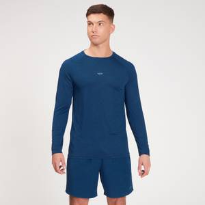 MP Men's Fade Graphic Training Long Sleeve Top - Dark Blue