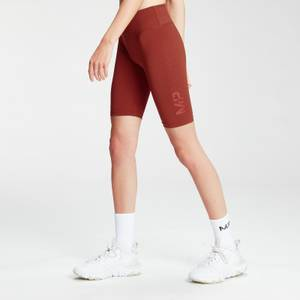 MP Women's Fade Graphic Training Cycling Shorts - Burnt Red