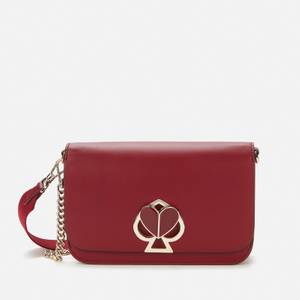 Kate Spade New York Women's Nicola Twistlock Medium Cross Body Bag - Red Wine