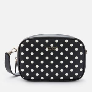 Kate Spade New York Women's Minnie Mouse/Lady Dot Medium Camera Bag - Black Multi