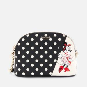 Kate Spade New York Women's Minnie Mouse Small Dome Cross Body Bag - Black Multi