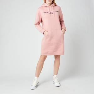 Tommy Hilfiger Women's TH Essentials Hilfiger Hoodie Dress - Soothing Pink